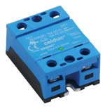 Solid state relay, SSR, S09, thyristor, triac, relay, blue, celduc, zer-cross, LED indicator, single page