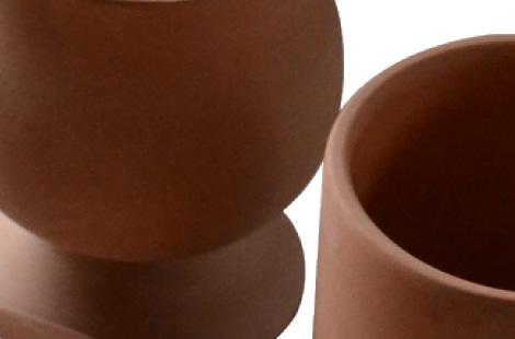Biscuit ware of ceramics